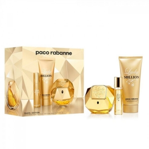 Lady Million Paco Rabanne Travel Exclusive Set Womens